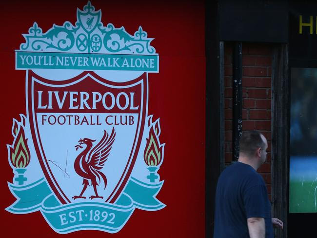 The Liverpool crest.
