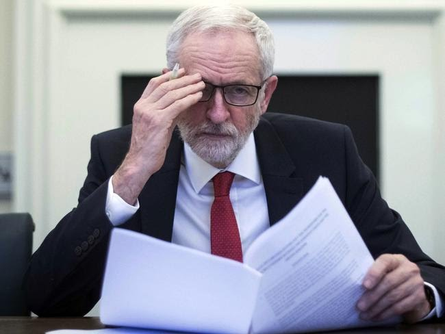 UK Prime Minister Theresa May has reached out to Labour leader Jeremy Corbyn in a last-ditch attempt to find a compromise. Picture: Stefan Rousseau/AP