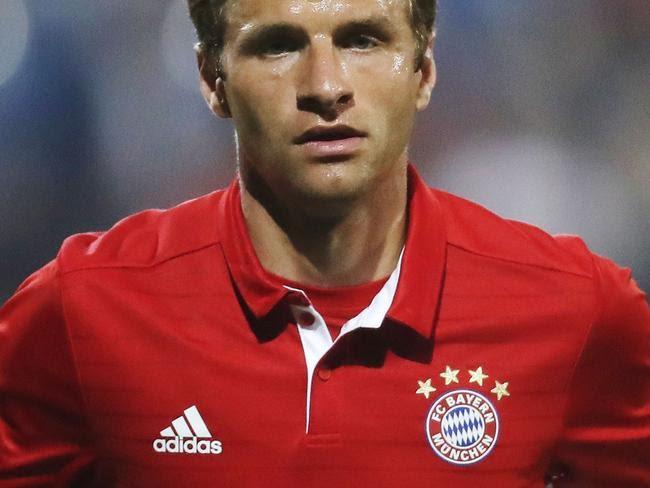 Bayern Munich's Thomas Muller.