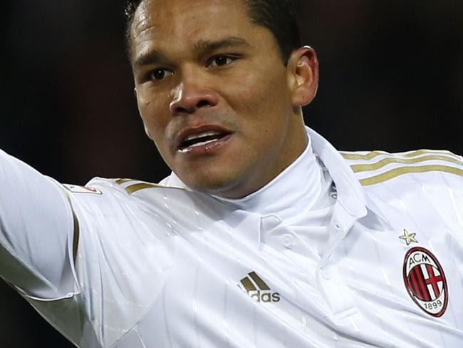 AC Milan's Colombian forward Carlos Bacca.